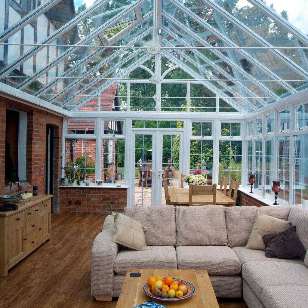 conservatory sunroom interior